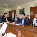 Presentación del Agrupamiento Lakhmas en la Administración Provincial de Chefchaouen