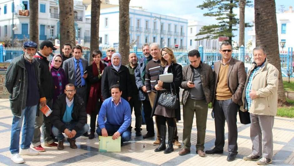 El proyecto de Presupuestos Participativos recibe a una delegación de la Unión Europea