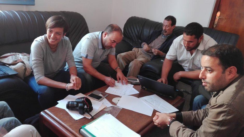 Un mes de obras en la Iglesia de San José en Larache
