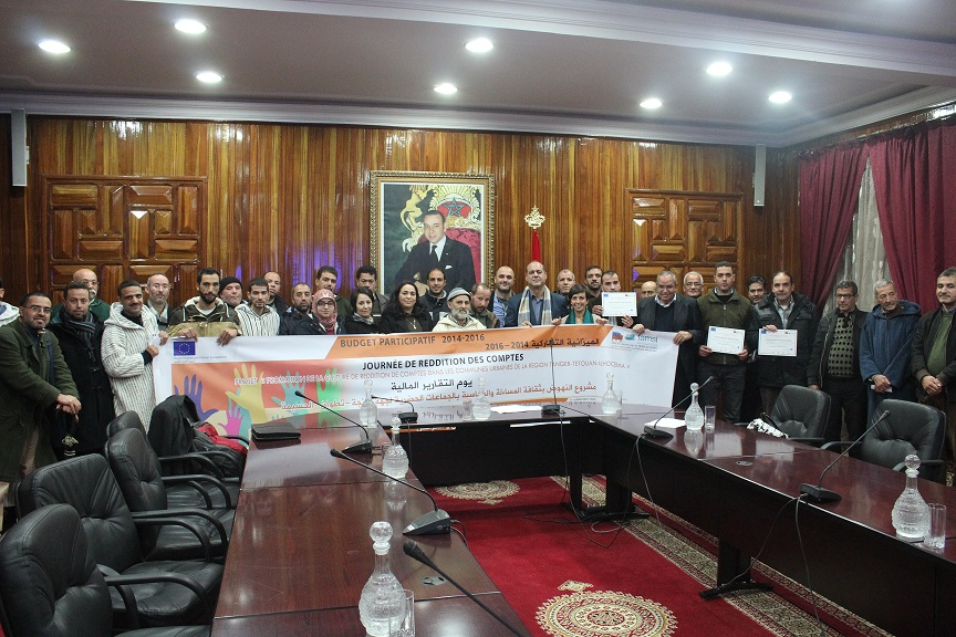 Presupuestos Participativos: Jornada de rendición de cuentas en Chefchaouen
