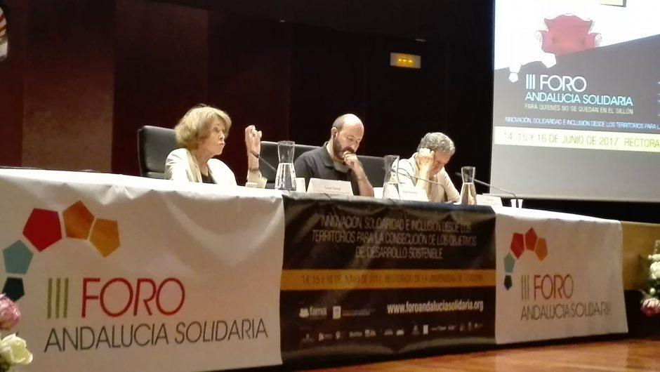 Desarrollo Económico Local en el III Fórum de AndalucíaSolidaria