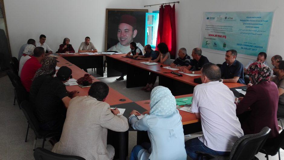 Laghdir acoge el segundo Taller del Grupo de Trabajo de Desarrollo Rural de la Federación ANMAR