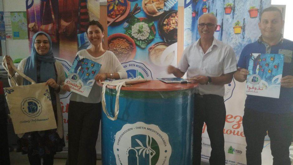 Se entregan los soportes de visibilidad de la Marca Chefchaouen: Dieta Mediterránea